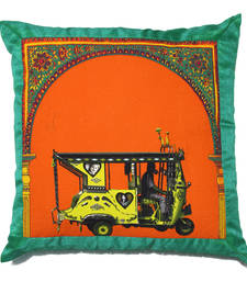 Buy Floral Gateway Cushion Cover with Border pillow-cover online