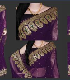 Buy Bridal diva-1 georgette-saree online