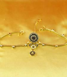 Buy rakhari set borla mang tika  gold platted stone meenakari cz ad moti pearl polki kundun  maang-tikka online