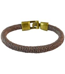 Buy Men  Thread Bracelet Brown color for Everyday wear Bracelet online