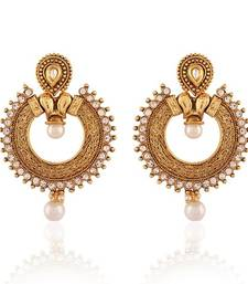 Buy Attractive Gold Plated Jewellery Earrings For Women danglers-drop online