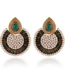 Buy Moddish Gold Plated Jewellery Earrings For Women danglers-drop online