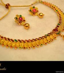 Buy Temple Jewellery Necklace Set 5 necklace-set online