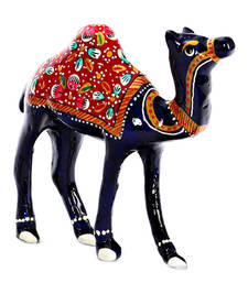 Buy Handpainted Royal Camel with Meenakari Work housewarming-gift online