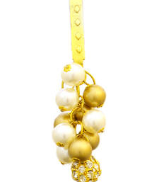 Buy Stylish Golden Pearl Key Chain key-chain online