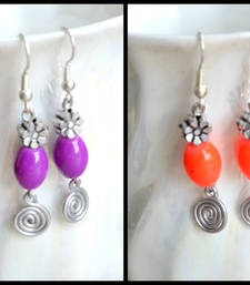 Buy Fruity Colourful Earrings danglers-drop online