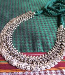 Buy Oxidized Thread necklace Necklace online