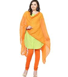 Buy Chiffon Orange Dupatta stole-and-dupatta online