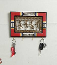 Buy Dhokra work key holder big other-home-accessory online