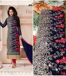 Buy ALL NEW HEENA KHAN LATEST DRESS MATERIAL BY AT PARISHI FAHSION   diwali-discount-offer online