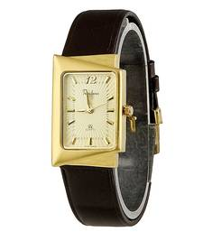 Buy Unique Design Gold Plated Square Wrist Watch Diwali Gift 112 diwali-corporate-gift online