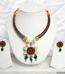 Buy Design no. 8B.2065....Rs. 1650 necklace-set online