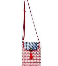 Buy Accrue blue and red Sling.   potli-bag online