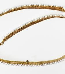 Buy Antique Design & Gold Plated Kamar Band With Pearl for Indian Women Jewellery Kamarbhand waist-belt online