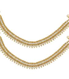 Buy Ethnic Indian Bollywood Fashion Jewelry Set Glowing Anklet Set anklet online