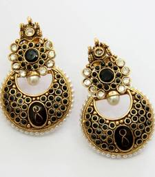 Buy ANTIQUE GOLDEN HANGINGS Earring online