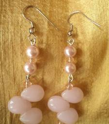 Buy Pink Earrings-Aliff Lailaa-03046 danglers-drop online