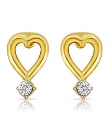 Buy Mahi Agradable Beauty Earrings With Gold Plating stud online