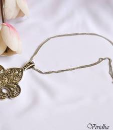 Buy Long Chain Necklace with  Pendent Necklace online