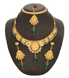 Buy Party Wear Necklace with Earring S necklace-set online