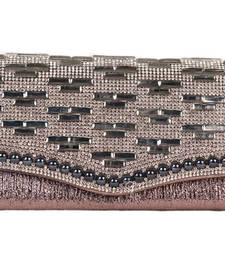 Buy Brown Wedding Clutch clutch online