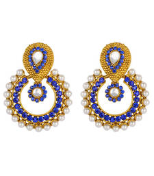 Pearl traditional ethnic indian earring shop online