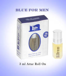 Buy AL NUAIM BLUE FOR MEN 3ML ROLL ON gifts-for-him online