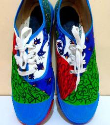 Buy Funky Feet-Peek-a-boo peacocks Shoe online