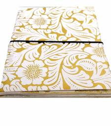 Buy handmade Embrossed diary office-opening-gift online