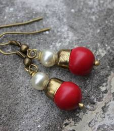 Buy Little Red Drops danglers-drop online