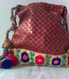Buy HANDMADE POTLI BROCADE_53 potli-bag online