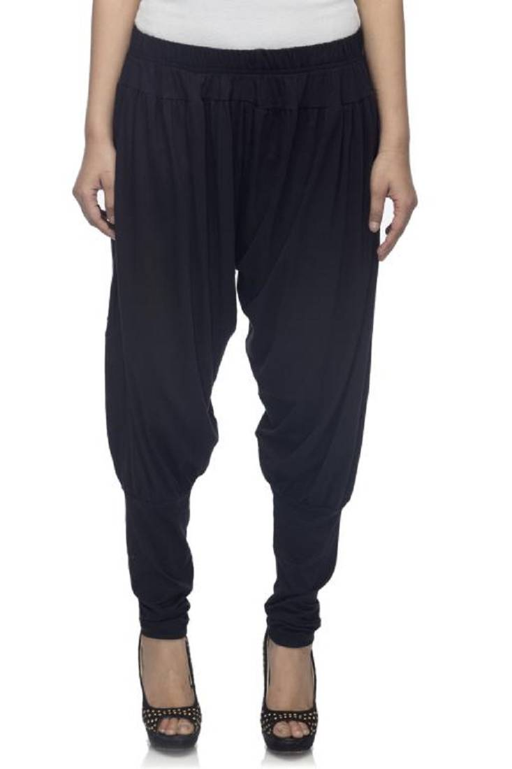 Buy dee fashion house black viscose lycra jodhpurs online for Housse lycra