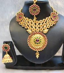 Buy Design no. 10B.2719....Rs. 8500 necklace-set online