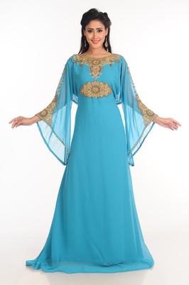 buy blue arabian islamic jalabiya online
