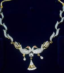 Buy Curvy Peacock Necklace necklace-set online