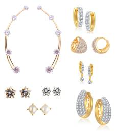 Buy Combo of 8 Pairs of Earrings combo-earring online