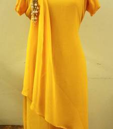 Buy Yellow Wine kurtas-and-kurti online