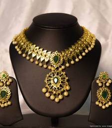 Buy Design no. 12.1525....Rs. 7500 necklace-set online