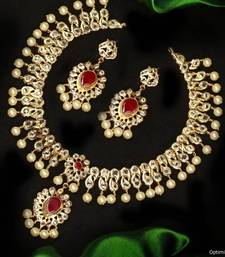 Buy Design no. 12.1454....Rs. 7500 necklace-set online
