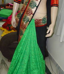 Buy NEON TREND saree crepe-saree online