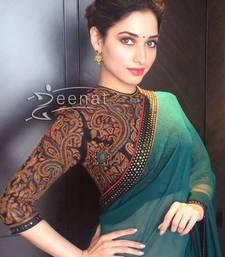 Buy Tamannaah Bhatia Purple Fancy designer Saree other-actress-saree online