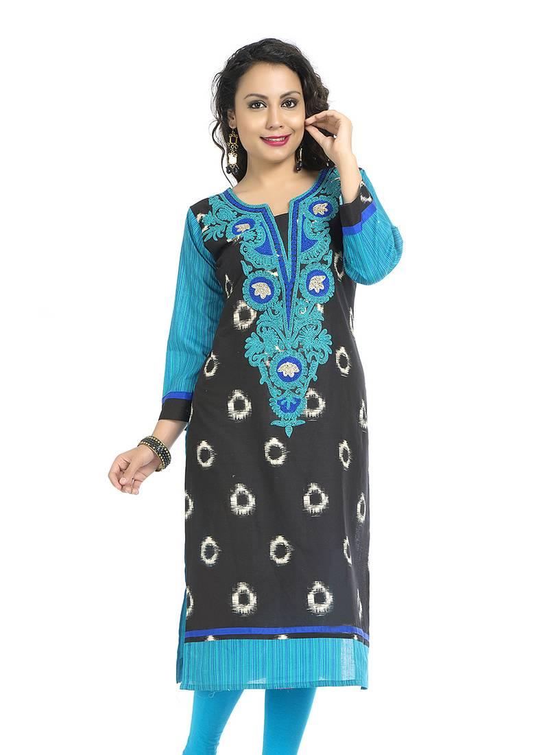 Buy embroidery fancy ladies kurti online