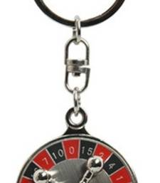Buy SuperDeals 360 Degree Rotating Casino Roulette Wheel Game Key Chain key-chain online
