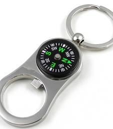 Buy SuperDeals CompassKeychain with Bottle Opener key-chain online