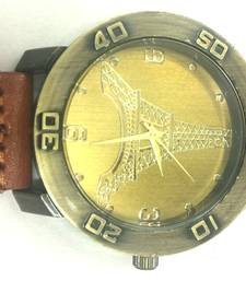 Buy Vintage Eiffel Tower Mens Watch gifts-for-him online