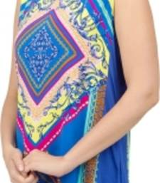 Buy Casual Sleeveless Printed Women's Tunic kurtas-and-kurti online