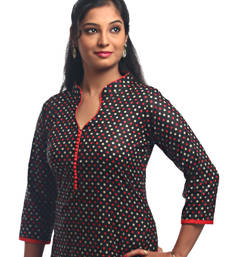 Buy Multicolor Casual Printed Women's Kurti kurtas-and-kurti online