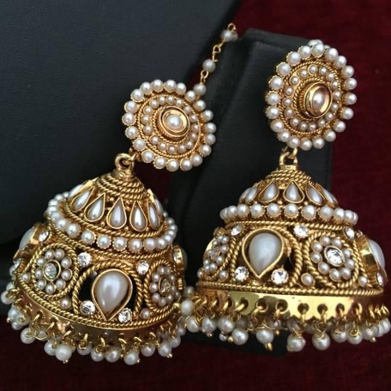 Buy Ethnic Indian Bollywood Fashion Jewelry Set ...