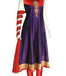 Buy Just Women - Elegantly crafted  Salwar Set with Contrast yoke & Sequin Motif salwars-and-churidar online