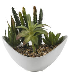 Buy Beautiful Artificial Plant with Ceramic Pot pot online
